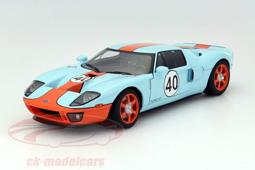 Small Piece Of Art The Ford Gt By Autoart In The Gulf Design