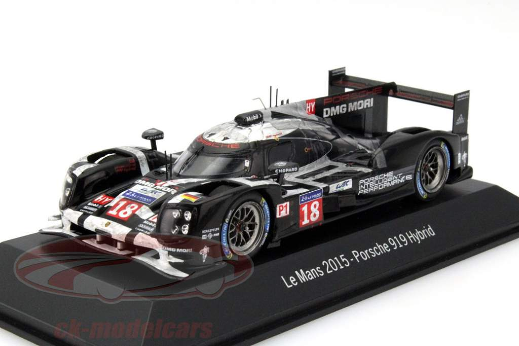 Porsche and Spark bring the 919 hybrid cars Winner