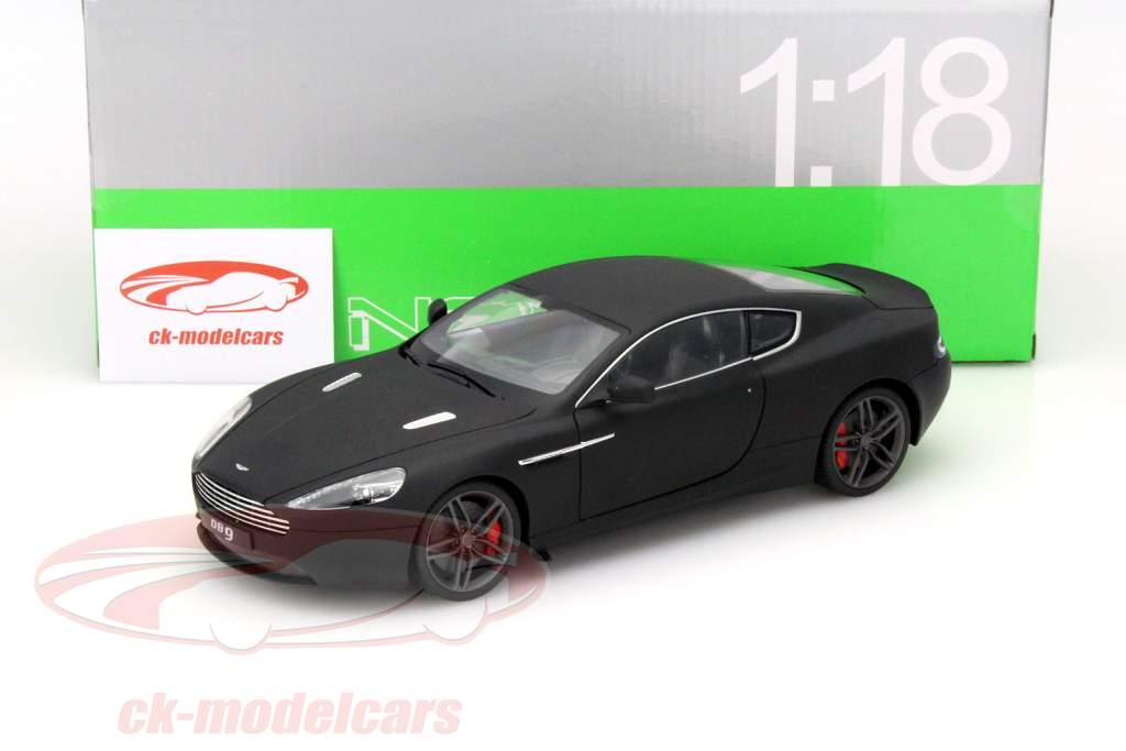 CKModelcars Mbk Aston Martin DB Coupe Year Mat Black - Aston martin db9 coupe