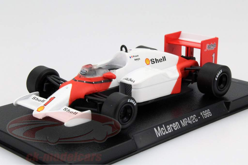 ck modelcars mag gl10 alain prost mclaren mp4 2c 1 champion du monde formule 1 1986 1 43. Black Bedroom Furniture Sets. Home Design Ideas