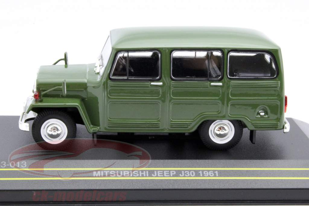 ck modelcars f43 013 mitsubishi jeep j30 year 1961 green 1 43 first43 models ean 4895102321193. Black Bedroom Furniture Sets. Home Design Ideas