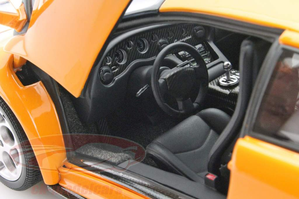 Ck Modelcars 74527 Lamborghini Diablo 6 0 Orange 1 18