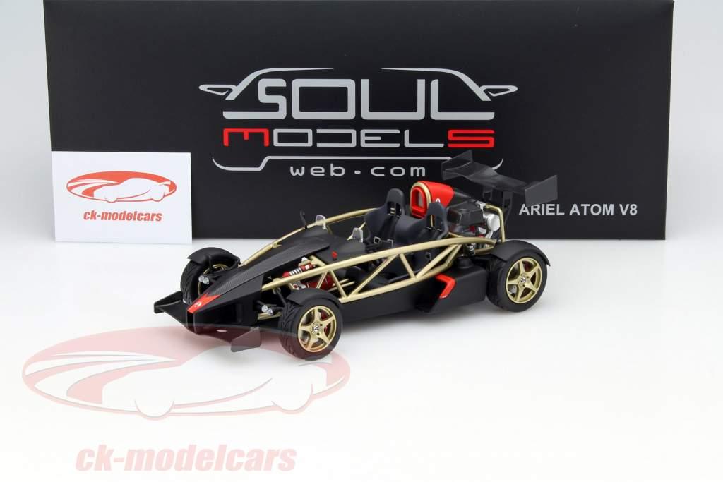 Ariel Atom V8 gold / black 1:18 Soul Models