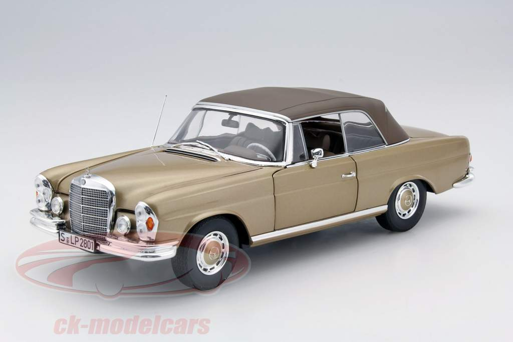 Ck modelcars b66040629 mercedes benz 280 se cabriolet for 1969 mercedes benz 280 se convertible