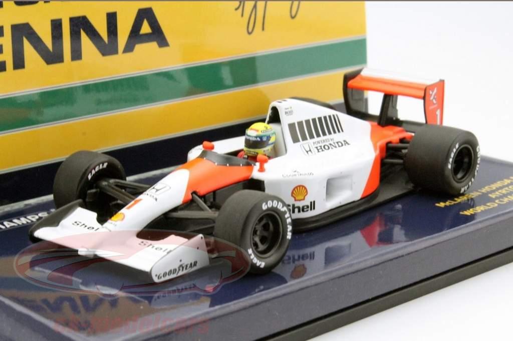 Ayrton Sennas McLaren MP4-6 neu im Maßstab 1:43