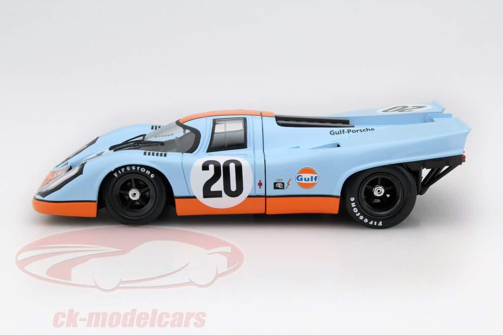 Porsche 917K #20 24h LeMans 1970 Siffert, Redman Upgraded Version 1:18 Norev