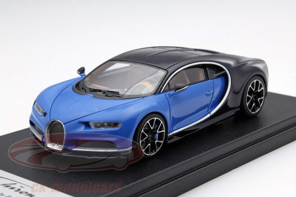 top novelty from looksmart - bugatti chiron in 1:43