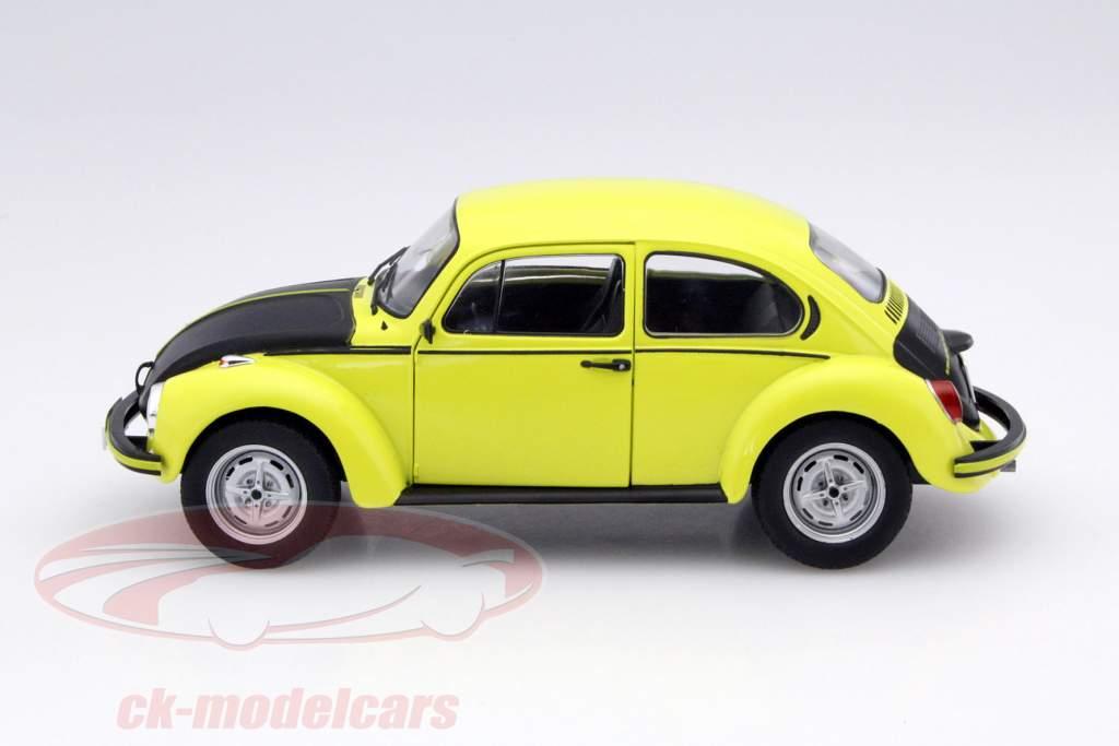 ck modelcars  volkswagen vw beetle  gsr year  yellow black  solido ean