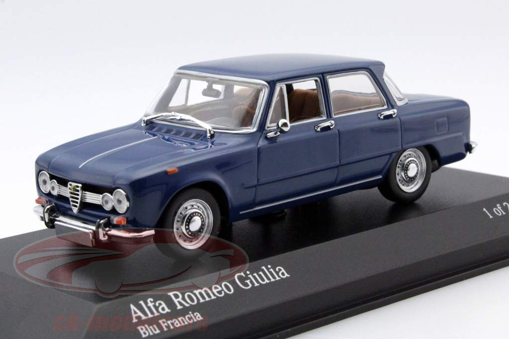 ck modelcars 400120908 alfa romeo giulia 1600 year 1970. Black Bedroom Furniture Sets. Home Design Ideas