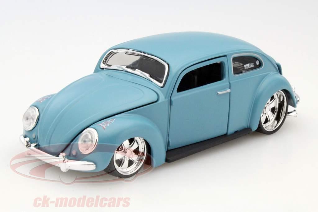 ck modelcars 31023 volkswagen vw beetle light blue 1 24. Black Bedroom Furniture Sets. Home Design Ideas