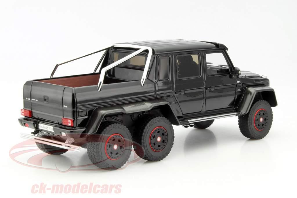 ck modelcars zm069 mercedes benz g63 amg 6x6 black 1 18 gt spirit ean 9580010301638. Black Bedroom Furniture Sets. Home Design Ideas