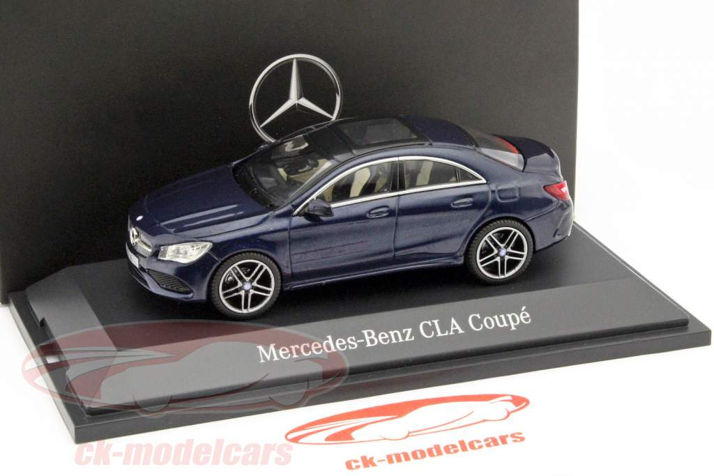 Mercedes Benz CLA Coupe (C117) Cavansite Azul 1:43 Kyosho