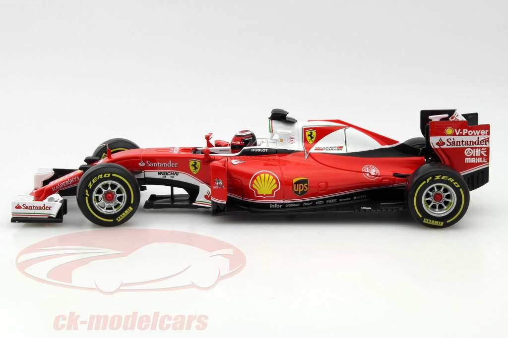 Kimi Räikkönen Ferrari SF16-H #7 formula 1 2016 1:18 Bburago