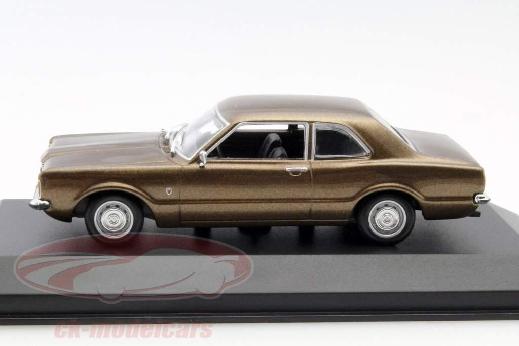 ck modelcars 940081300 ford taunus year 1970 brown. Black Bedroom Furniture Sets. Home Design Ideas