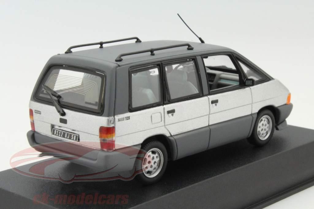ck modelcars 518013 renault espace year 1984 silver 1 43 norev ean 3551095180131. Black Bedroom Furniture Sets. Home Design Ideas