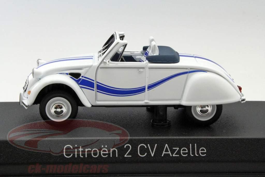 ck modelcars 150093 citroen 2cv cabriolet azelle year 1990 white blue 1 43 norev ean. Black Bedroom Furniture Sets. Home Design Ideas