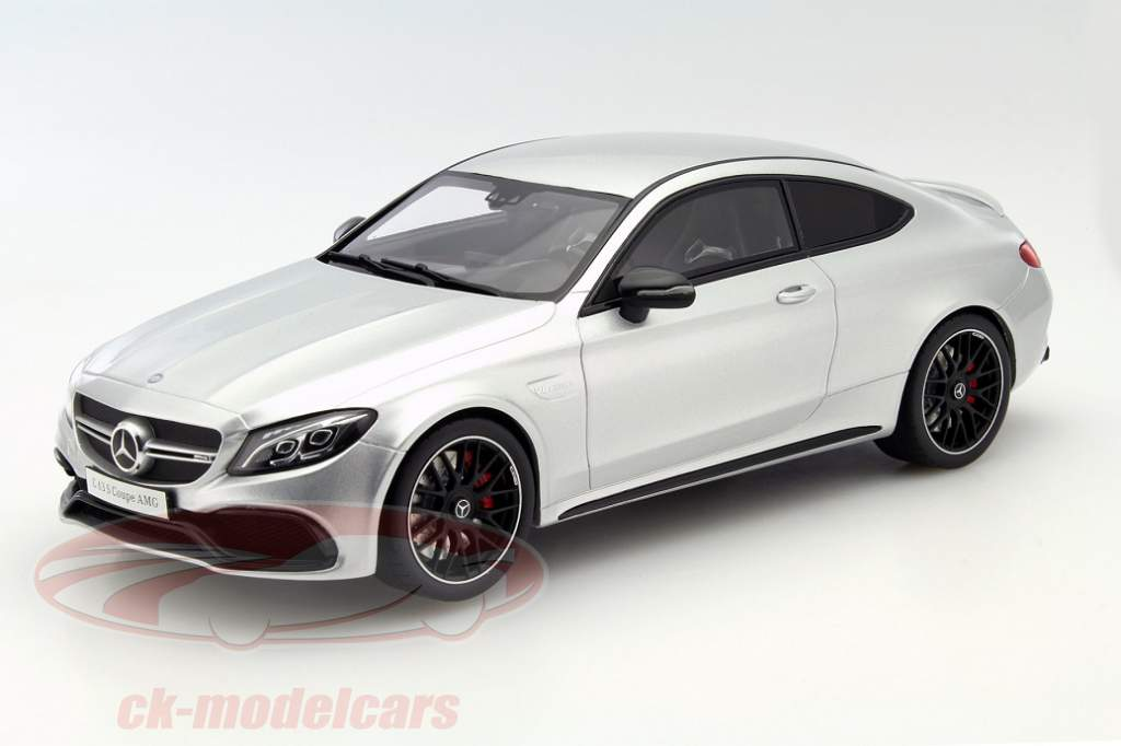 gt spirit and the mercedes amg c 63 s coup in 1 18. Black Bedroom Furniture Sets. Home Design Ideas