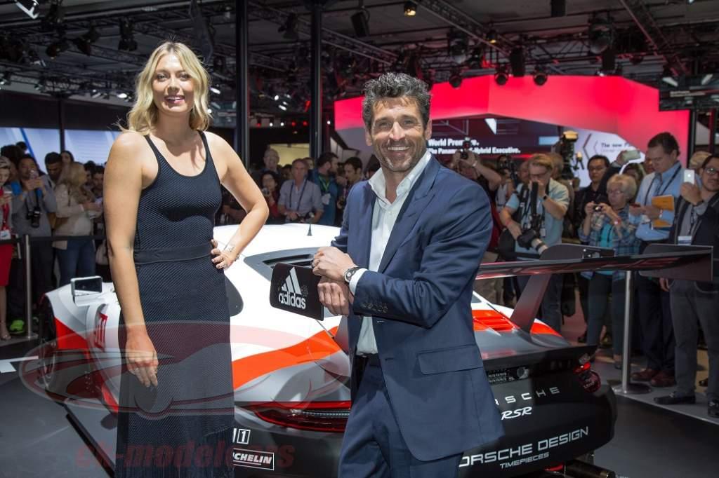 Porsche Patrick Dempsey Und Die La Auto Show 2016