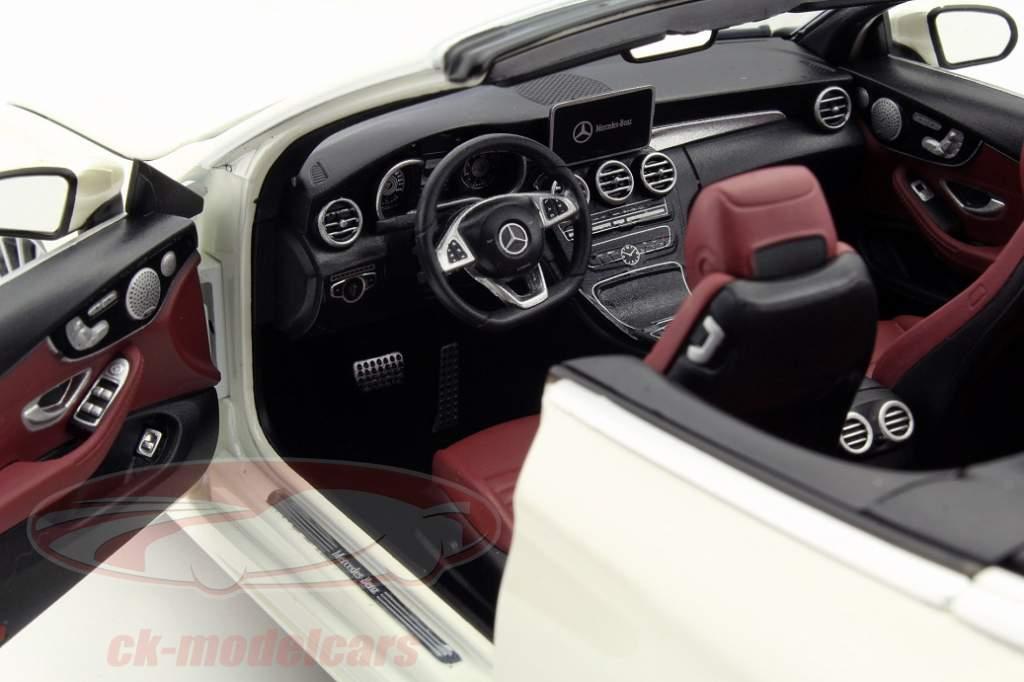 Mercedes Benz und das C Klasse Cabrio im Modell