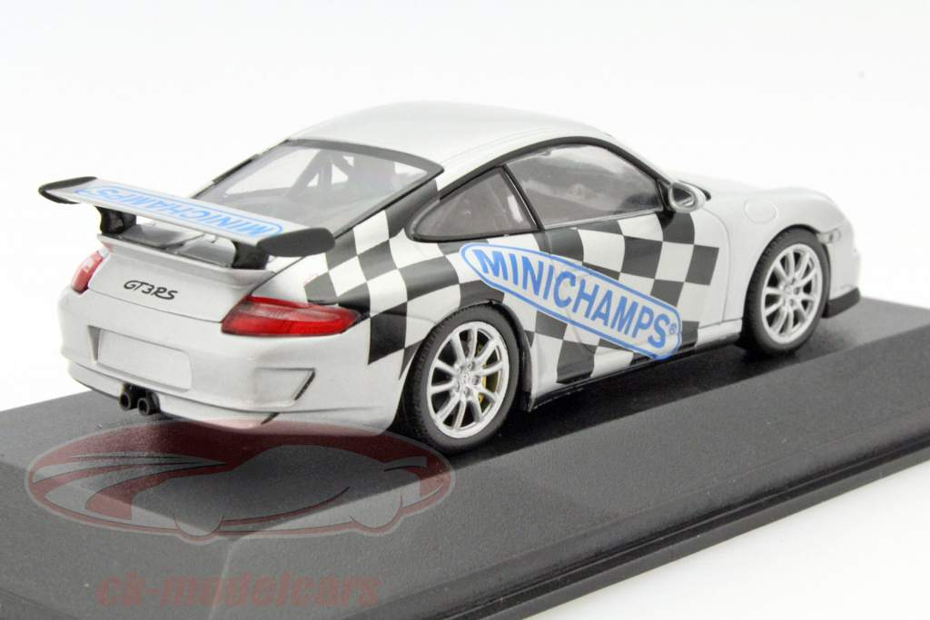 ck modelcars ck33844 porsche 911 997 gt3 rs toy fair n rnberg 2007 silver 1 43 minichamps. Black Bedroom Furniture Sets. Home Design Ideas