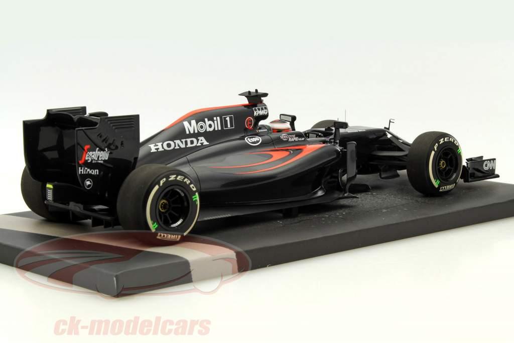 Stoffel Vandoorne McLaren MP4-31 #47 F1 Debut bahrain GP F1 2016 1:18 Minichamps