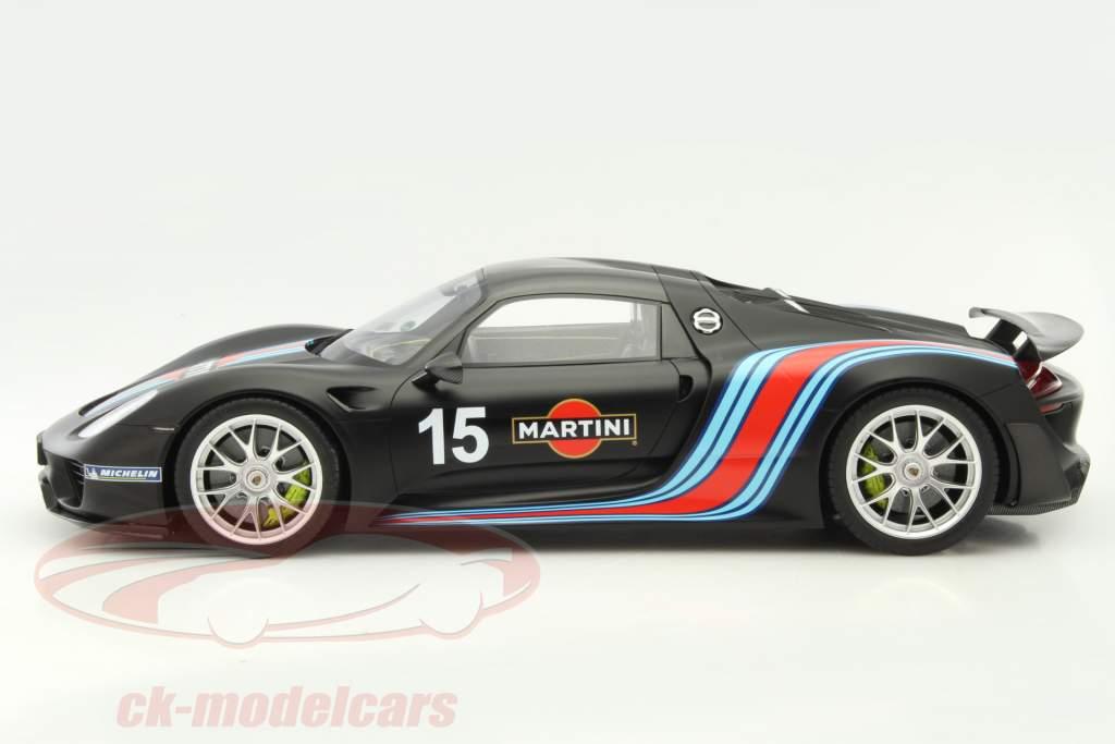 Porsche 918 Spyder Weissach Package #15 record corsa 179,5 km/h Nürburgring 2013 1:12 GT-SPIRIT