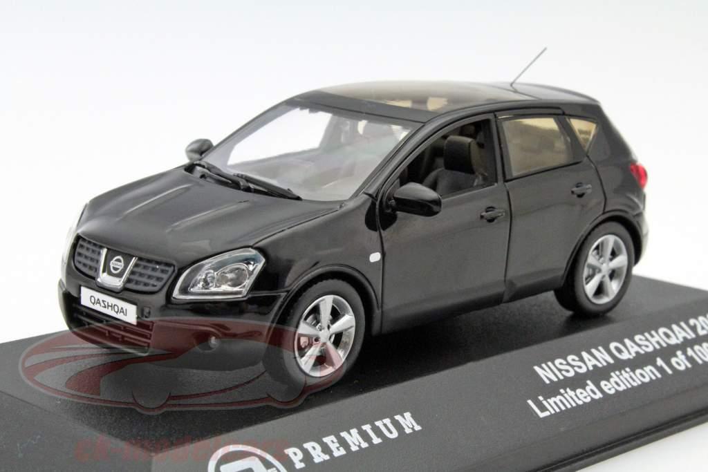 ck modelcars t9p10025 nissan qashqai baujahr 2007 noir 1 43 triple 9 ean 9580015706445. Black Bedroom Furniture Sets. Home Design Ideas