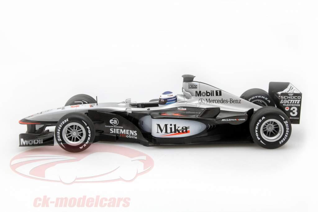 Mika Häkkinen McLaren MP4-16 #3 formula 1 2001 1:18 Minichamps