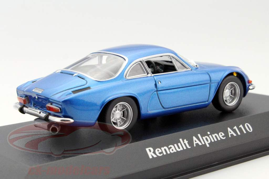 ck modelcars 940113600 renault alpine a110 year 1971 blue 1 43 minichamps ean 4012138135017. Black Bedroom Furniture Sets. Home Design Ideas
