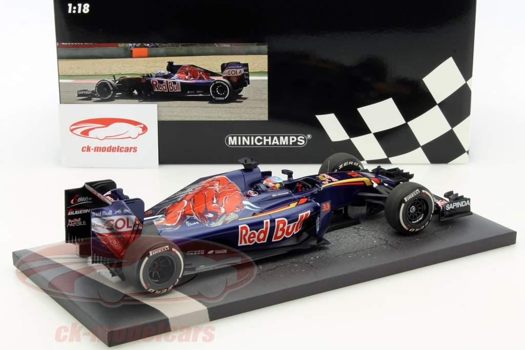 Max Verstappen Toro Rosso STR11 #33 China GP formula 1 2016 1:18 Minichamps