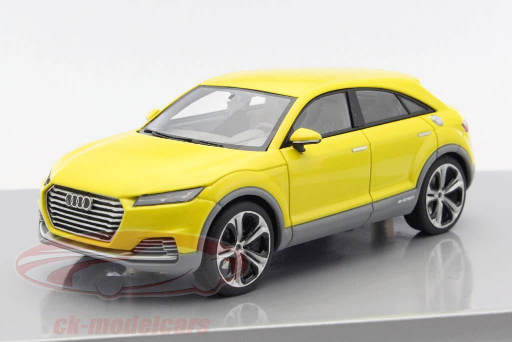 ck modelcars a5 5152 audi tt offroad concept car gelb 1. Black Bedroom Furniture Sets. Home Design Ideas
