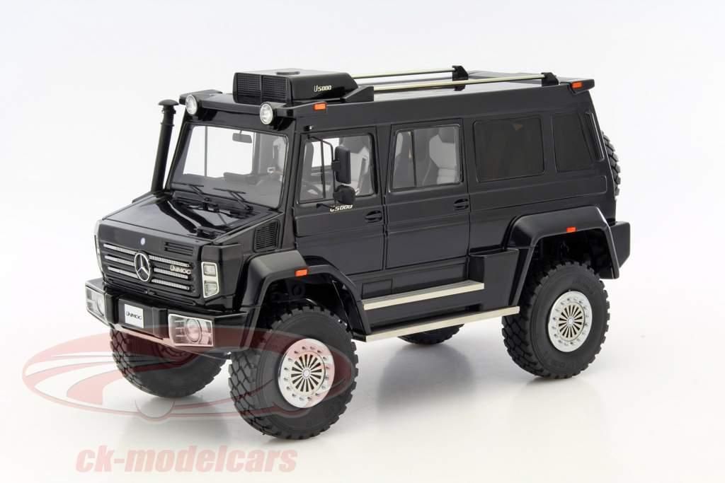 Mercedes-Benz Unimog U5000 year 2012 black 1:18 GLM