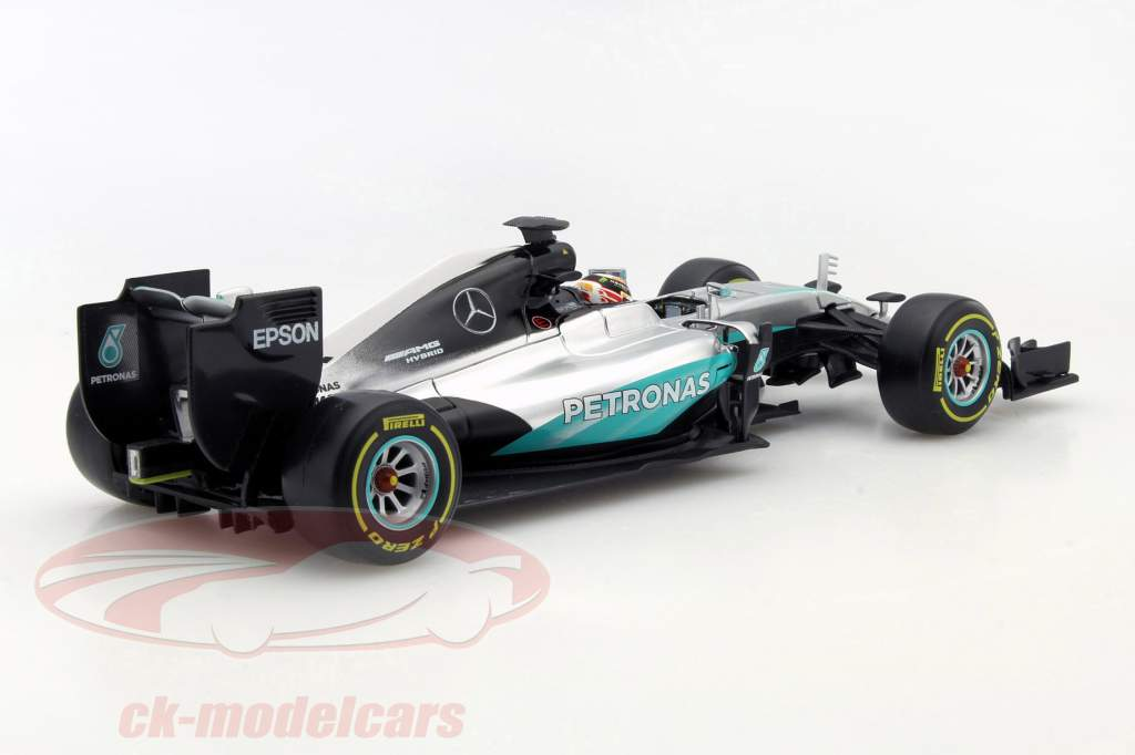 Lewis Hamilton Mercedes F1 W07 Hybrid #44 formula 1 2016 1:18 Bburago