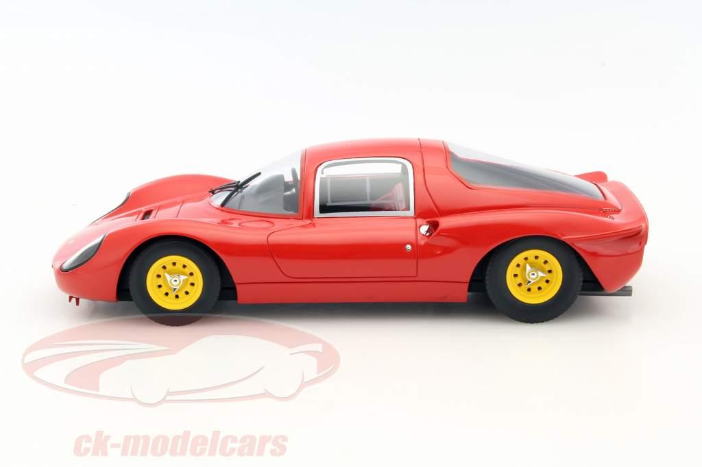 Ferrari Dino 206 S Plain Body Version year 1966 red 1:18 CMR
