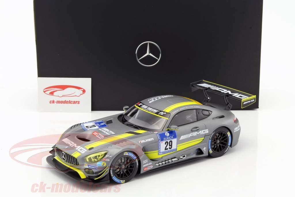 Mercedes-Benz AMG GT3 #29 2nd 24h Nürburgring 2016 Vietoris, Seefried, Zande, Hohenadel 1:18 Norev