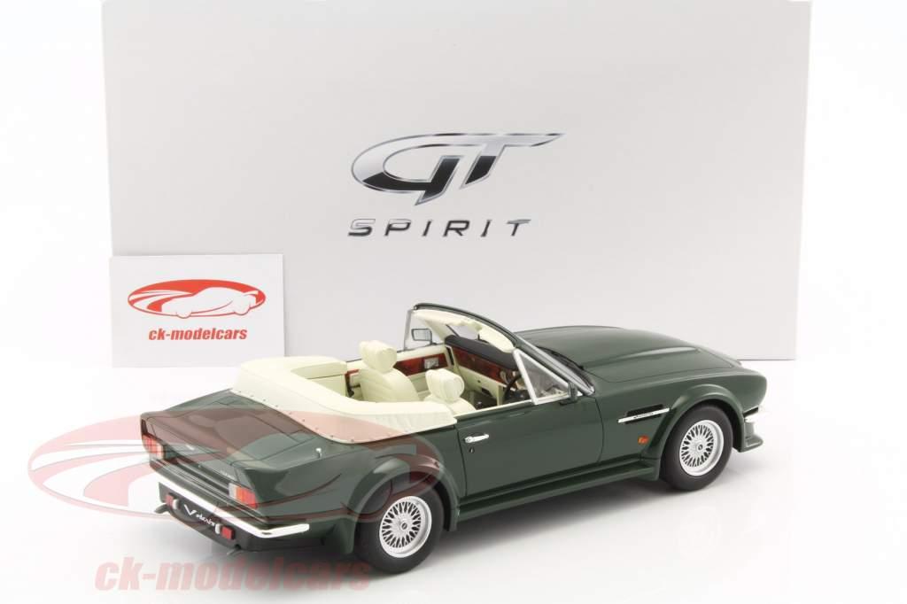 Aston Martin V8 Vantage Volante year 1977 green 1:18 GT-SPIRIT