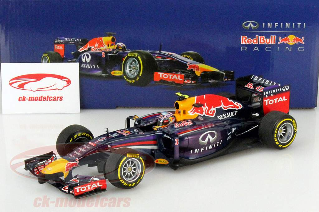 Daniel Ricciardo Infiniti Red Bull RB10 #3 Formula 1 2014 1:18 Minichamps