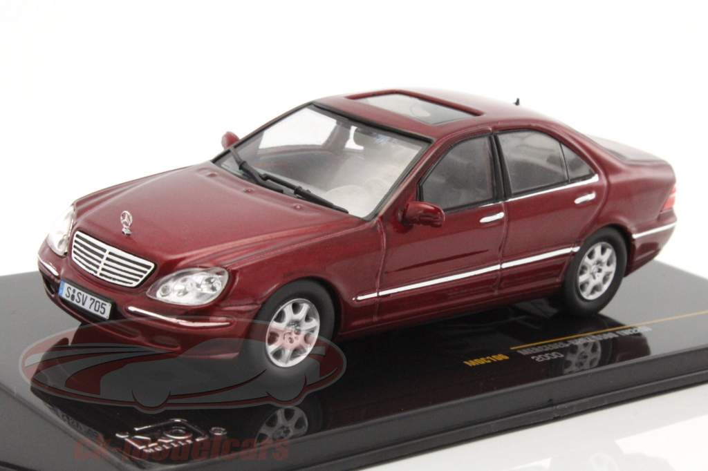 ck modelcars moc106 mercedes benz s500 w220 year 2000. Black Bedroom Furniture Sets. Home Design Ideas