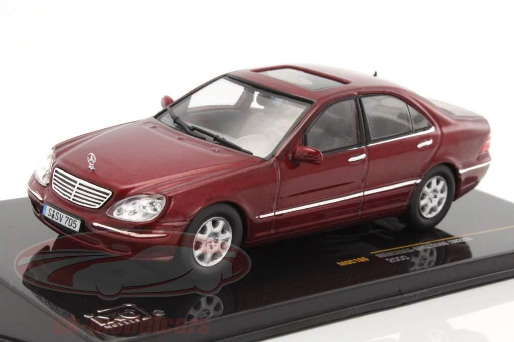 Ck modelcars moc106 mercedes benz s500 w220 year 2000 for Mercedes benz 2000 models