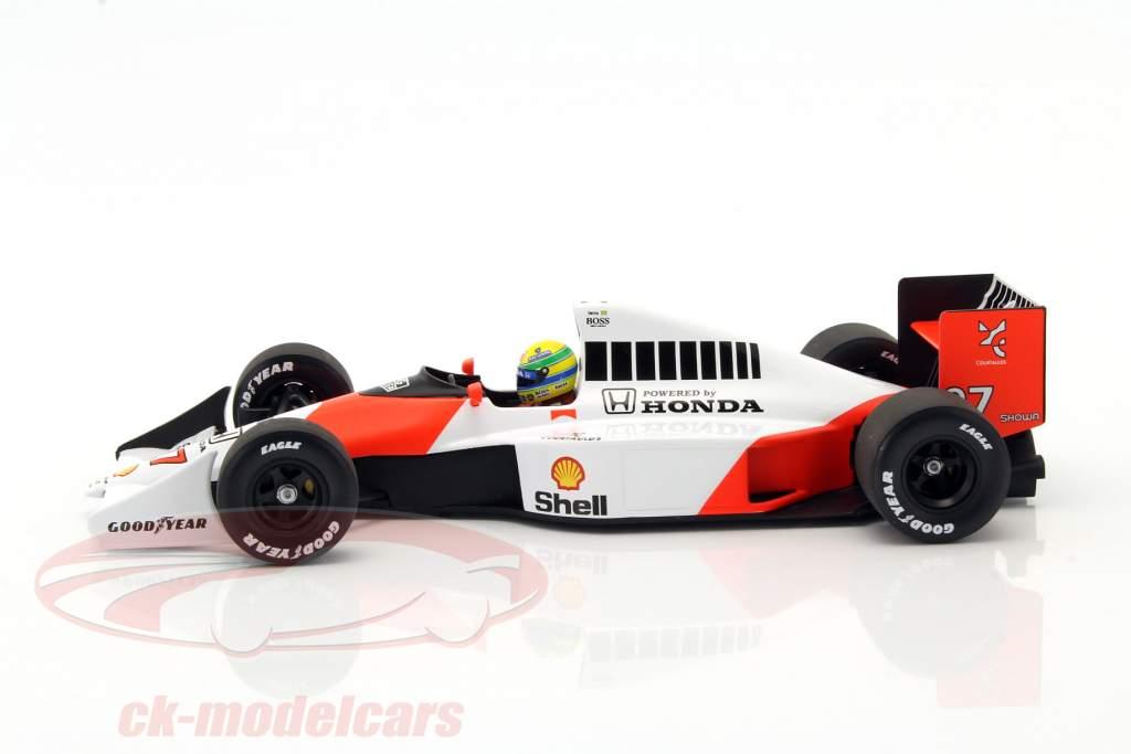 Ayrton Senna McLaren MP4/5B #27 World Champion formula 1 1990 1:18 Minichamps