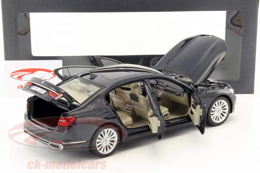 BMW 750 Li G12 Baujahr 2015 Imperial Blau 118 IScale