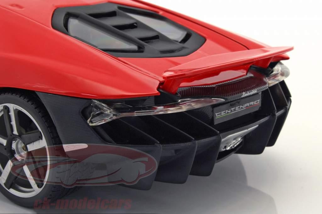 Lamborghini Centenario LP 770-4 year 2016 red 1:18 Maisto