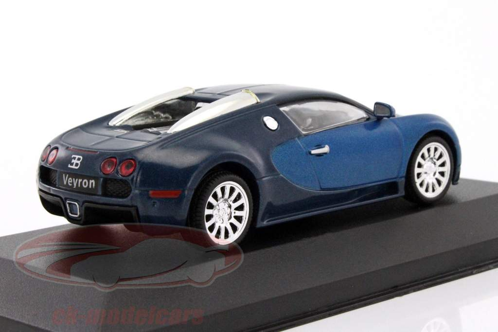 ck modelcars maghm11 bugatti veyron 16 4 year 2005 blue. Black Bedroom Furniture Sets. Home Design Ideas