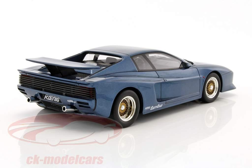 Koenig Specials Ferrari Testarossa Bi-Turbo blue 1:18 GT-SPIRIT
