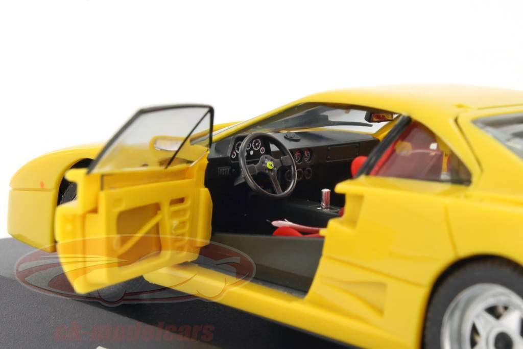 Ferrari F40 year 1987-1992 yellow 1:43 Herpa