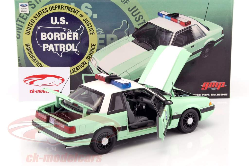 United states border patrol and cherry