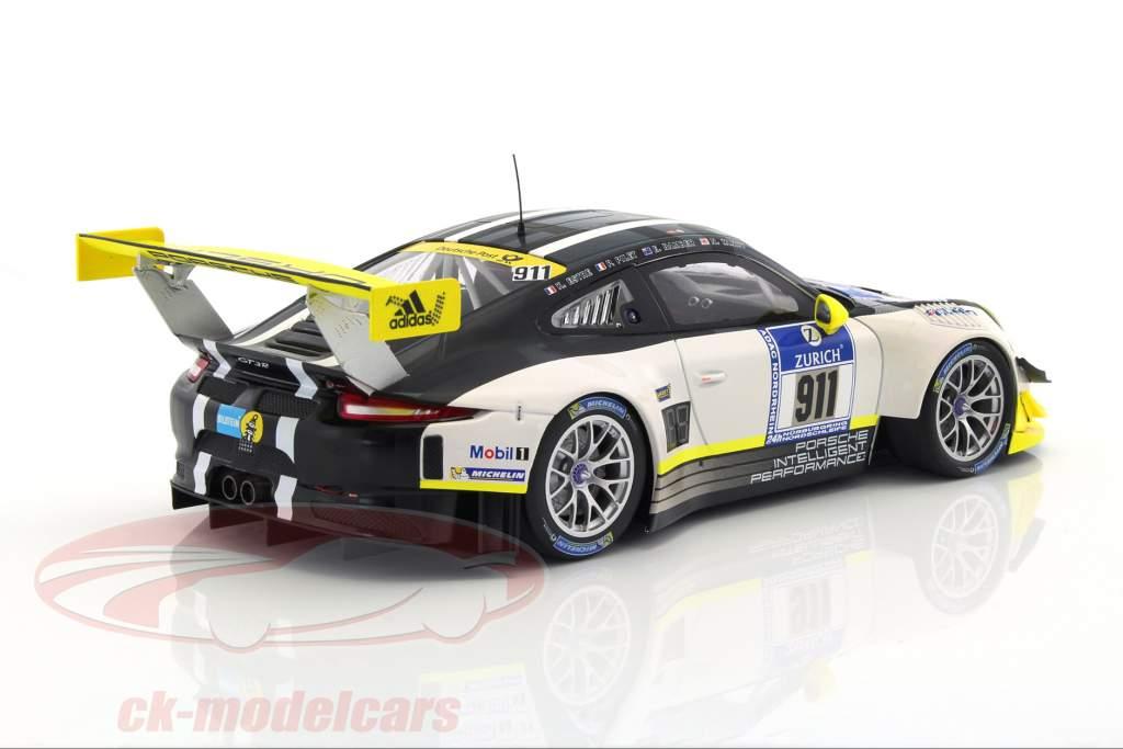 Porsche 911 (991) GT3 R #911 24h Nürburgring 2016 Manthey 1:18 Minichamps