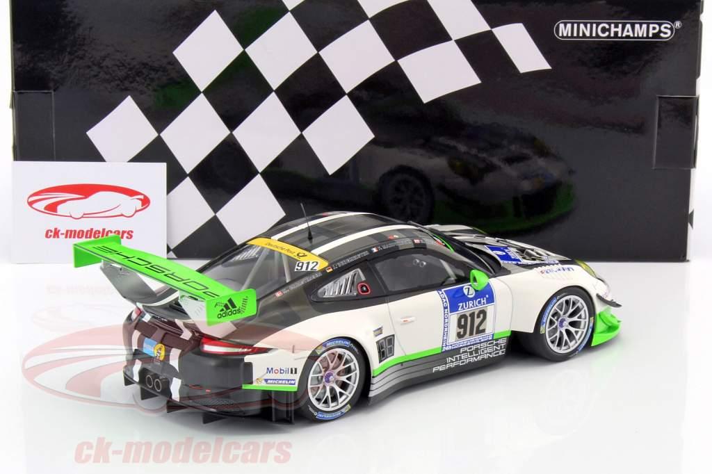 Porsche 911 (991) GT3 R #912 24h Nürburgring 2016 Manthey 1:18 Minichamps