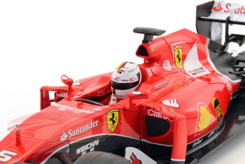 Sebastian Vettel Ferrari SF15-T #5 Formula 1 2015 1:18 Bburago