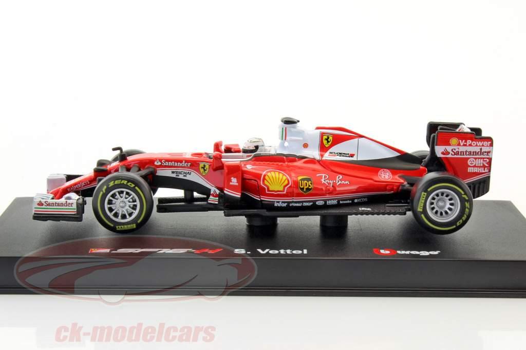 Sebastian Vettel Ferrari SF16-H #5 formula 1 2016 Ray-Ban 1:43 Bburago